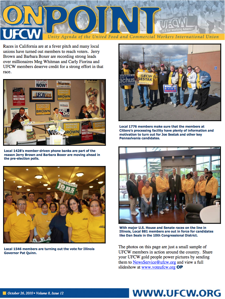 2010 | UFCW Local 400 | Page 3