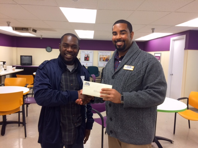 Congratulations to ABC Drawing Winner, Amadou Diallo