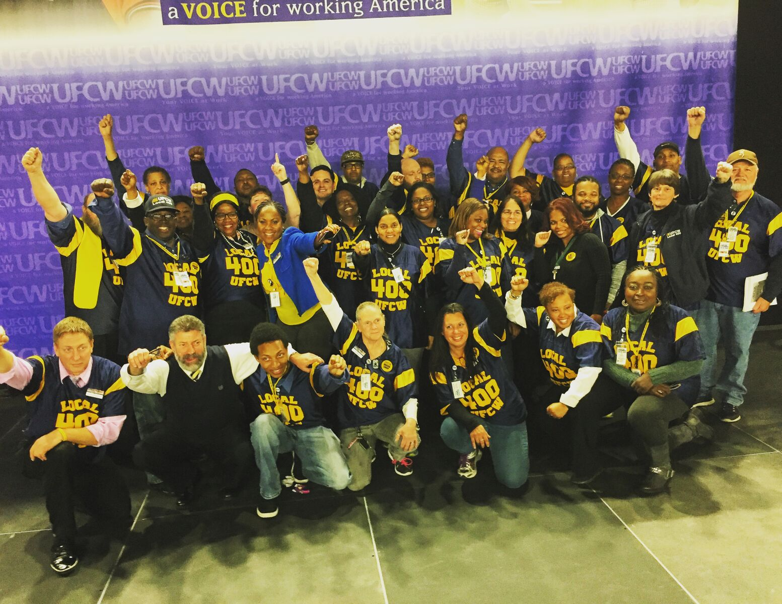 Local 400 President Mark Federici Elected to UFCW International Executive Board