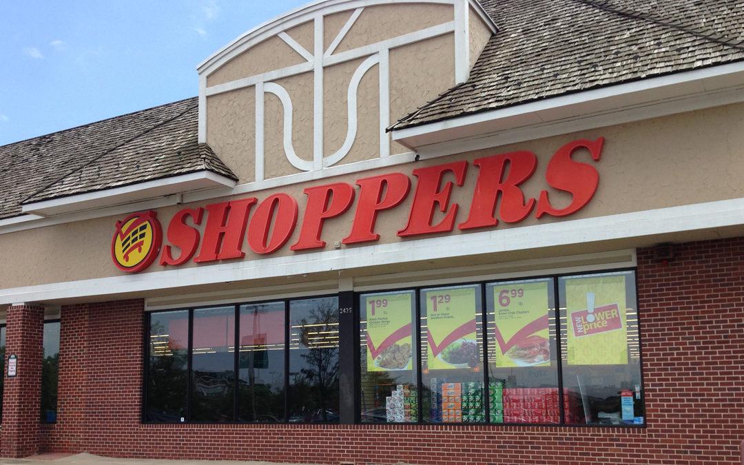 Shoppers Food & Pharmacy storefront in Herndon, VA