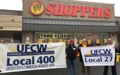 UFCW Local 400 Members, Community Allies Rally To Protest Shoppers Closures, Store Sales