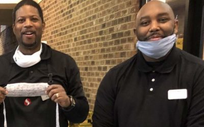 Virginia Interfaith Center Donates Masks to Grocery Workers