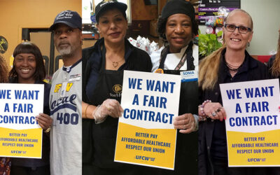 May 18 & 20: Kroger Richmond-Tidewater Contract Proposal Meetings
