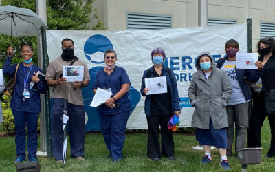 Kaiser Permanente Nurses Hold Vigils Nationwide to Honor Health Care Workers